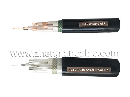 Cu(AL) XLPE SWA PVC LV armored  Power Cable